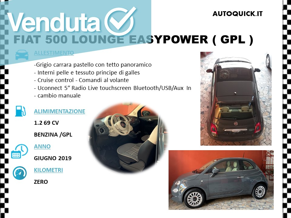 500 GPL VENDUTA..